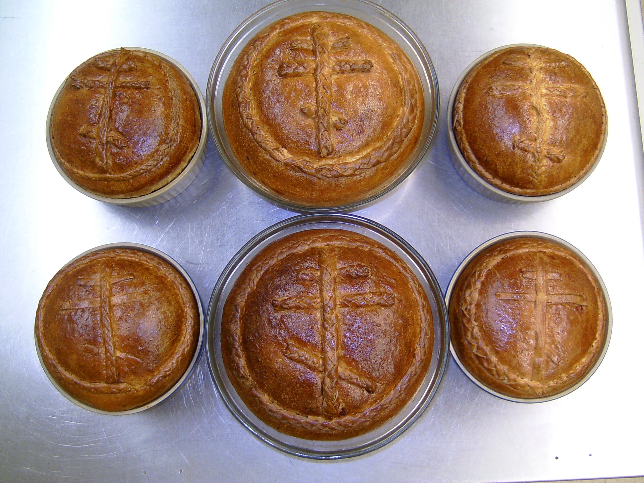 Pascha Breads 2013-02-28