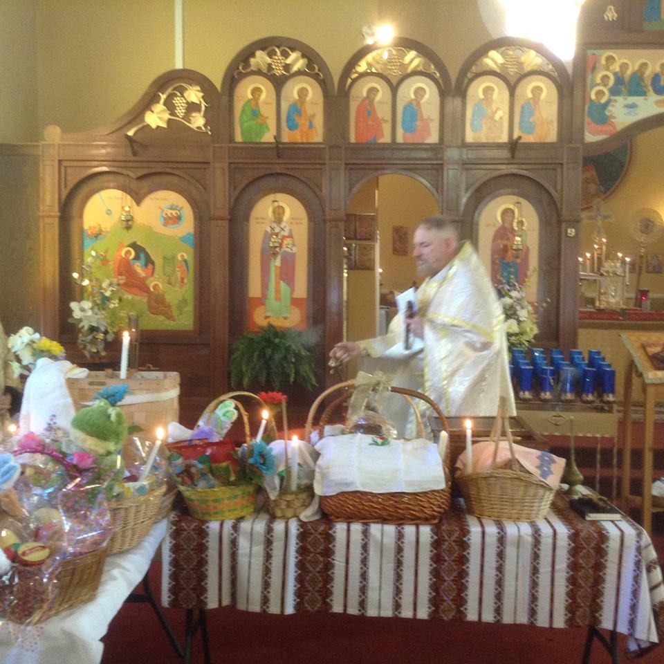 2016 Easter basket blessing